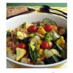 Squash salad pic