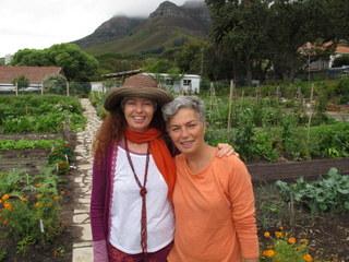 Jane Griffiths with Sheryl Ozinsky
