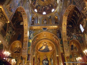 Mosaics, Palatine Chapel, Norman Palace, Palermo (01)