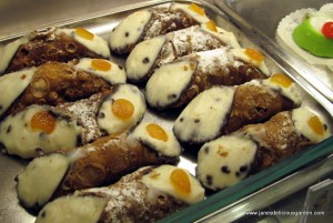 Sicily's famed delicacy cannoli